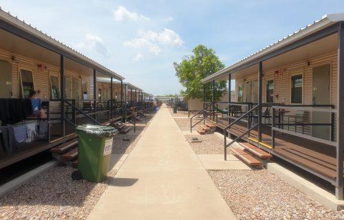 Howard Springs quarantine dongas